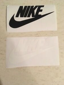 2 Nike Swoosh Vinyl Decal Car Truck Window Sticker Laptop Graphic One Of Each