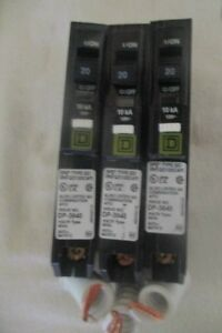 New 3 Square D Qo120cafi Arc Fault Breakers Type Qo Arc d tect