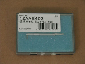 New Mitutoyo 12aab403 Standard Stylus Surface Roughness Gauge in Orig Taped Box