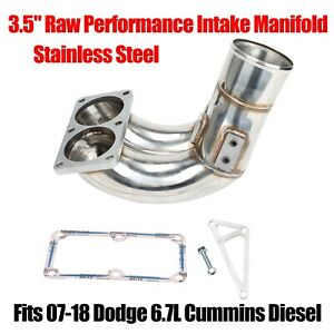 3 5 Raw Performance Ss Intake Manifold Fits 07 18 Dodge 6 7l Cummins Diesel