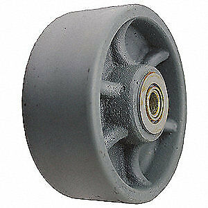 Grainger Approved Caster Wheel cast Iron 8 In 1600 Lb Ca0840712g