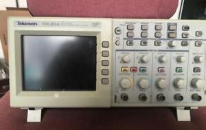 Tektronix Tds 2014 Four Channel Digital Storage Oscilloscope 100 Mhz 1gs s
