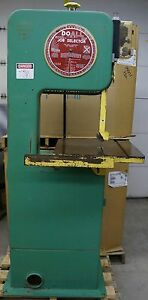 Doall 16 Bandsaw Lhv Wood Only 20 Table