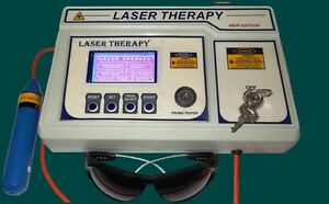 New Chiropractic Computerised Laser Therapy Machine Advanced Software Machine