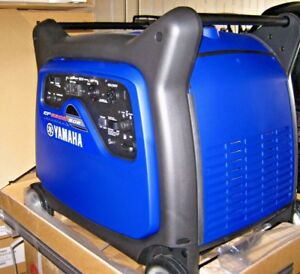 Yamaha Ef6300isde Generator Inverter Camping Tailgating New 3yr Warranty Quiet
