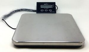 Weighmax 150lbs Digital Shipping Postal Scale With Ac Adapter Model 4820