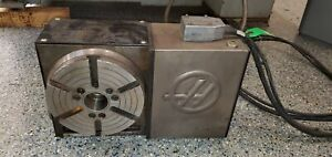 Used Haas Hrt 210 Brushless Sigma 1 Rotary Table Indexer 4th Axis For Sale