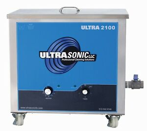 Ultrasonic Cleaner Digital Industrial Heated Heater Timer 13 Gallon 40 Khz Soap