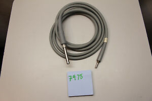Linvatec 7478 Surgical Fiber Optic Light Source Cable With 7455 Linvatec Fitting