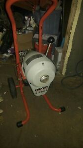 Ridgid K1500 Sewer Snake Drain Cleaning Machine