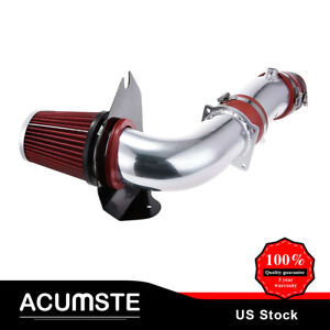 3 5 Red Cold Air Intake Induction Kit Filter For Ford 94 95 Mustang Gt 5 0l V8
