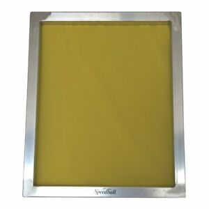 Speedball Aluminum Frame 305 Monofilament Yellow Mesh 20 X 24