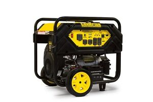 100111r 12 000 15 000w Champion Portable Generator W 50amp Refurbished