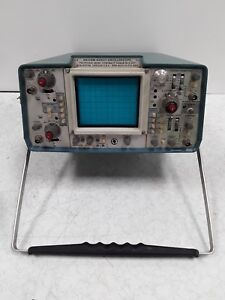 Tektronix 465 M Oscilloscope For Parts Or Repair Possibly Bad Crt