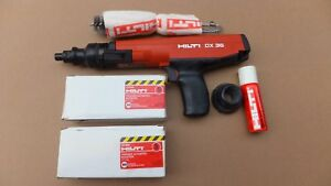 Hilti Dx36m Powder Actuated Fastening Tool New