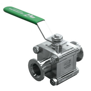 Ancorp Manual Ball Valve Sst Body Kf 16 B4075 qf16