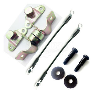 New Tailgate Hinges Cables Striker Bolts Set For Gmc Sierra Chevy Silverado