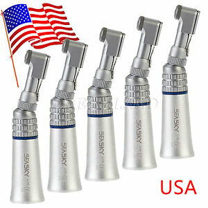 5x Seasky Dental Low Speed E type Contra Angle Handpiece Fit Nsk Motor Ys us
