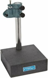 Fowler Full Warranty 52 580 030 0 Granite Gage Stand 8 Column Height 0 00005