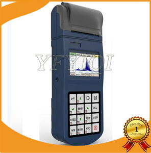 Yv400 Lcd Portable Vibration Meter Tester Vibrometer Velocity 0 1 To 400 0 Mm s
