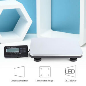 660lbsx 1oz Heavy Duty Digital Shipping Postal Scale 300kg Scale Bench Led New