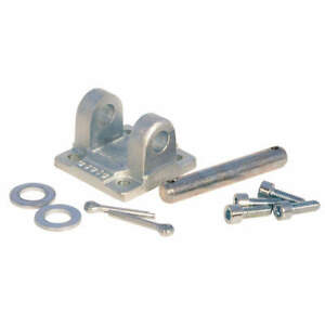 Speedaire Plated Steel Double Rear Clevis 50mm Bore D5050