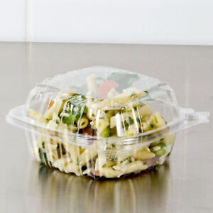 1000 Case Dart 5 Clear Hinged Lid Plastic Food Deli To Go Clamshell Container