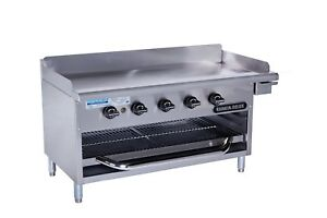 Rankin delux Gb 48 c Commercial Gas Griddle Over fired Broiler