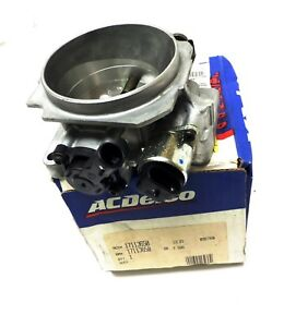 17113650 Throttle Body Tbi Complete Chevrolet Camaro Firebird Formula 5 7l V8