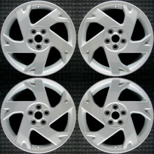 Set 2003 2004 2005 2006 2007 2008 Pontiac Vibe Oem 16 Silver Wheels Rims 6558