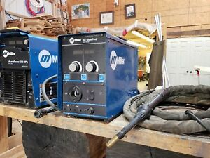 Miller Alumapro 350 Mpa With Alumapro Wire Feeder And 25 Push pull Gun