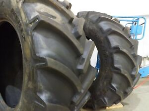 2 Goodyear 580 70r38 Tractor Tires