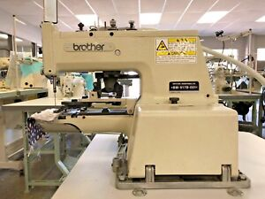 Brother Bm 917b 001 Button Sewing Machine W 110 volt Clutch Motor Complete