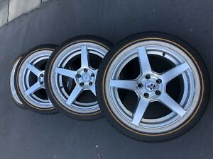 225 50 R 17 Rims And Tire Set Of 4