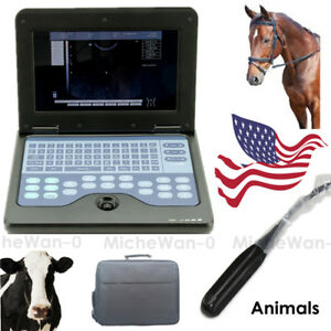 Cms600p2vet Animal Laptop Ultrasound Scanner Machine 7 5m Rectal Veterinary Usa