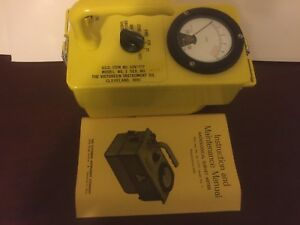 Victoreen Radiological Survey Meter Model Cd V 717 Model 1