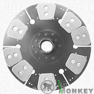 M524411 Hd8 New 14 single Stage Clutch Disc 8large Pad massey Ferguson 1800 1805