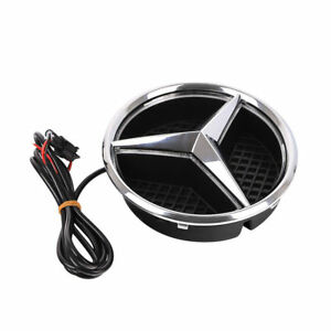 1pc Mercedes Benz Front Grille Star Emblem Light 2011 2016 Illuminated Led Light