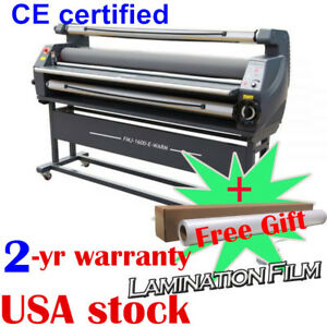 Us 63 Luxury Full Auto Heat Assisted Large Wide Format Cold Laminator Machine