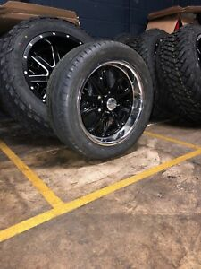 17 Us Mags Rambler General Rs Wheel Tire Package Chevy Chevelle Caprice