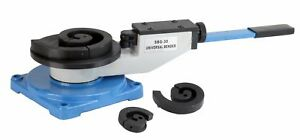 Erie Tools Bench Mount Scroll Bar Bender For Angular Roll Hoop And Coil Bending