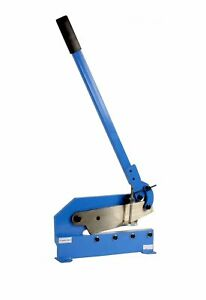 Erie Tools 12 Benchtop Manual Plate Shear Slices Sheet Metal Plate And Rebar