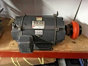Dayton Electric Energy Efficient Industrial 20hp Motor 3kw48a 3530rpm