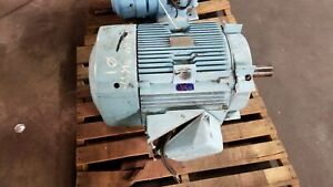 General Electric 5k364bl208 Tri Clad Induction Motor 60 Hp 1775 Rpm