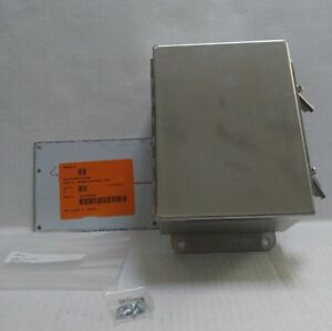 Hoffman Stainless Steel Electrical Box Enclosure A8064chnf88