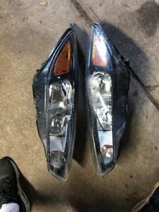 2015 2017 Ford Focus Oem Black Headlights Pair Left And Right