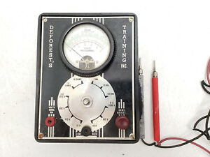 Vintage Deforest s Training Inc Volt Ohm Meter