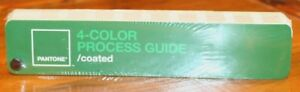 New In Sealed Package Pantone 4 color Process Guide Coated