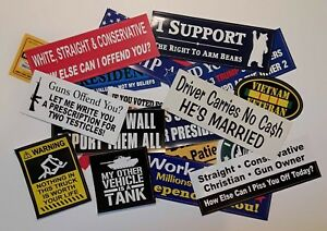 Complete Bumper Sticker Business For Sale 800 Stickers To Start With