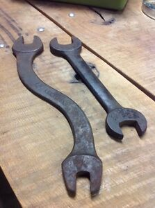Lot Of 2 Vintage Wrenches Armstrong Model T